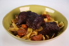 the chew | Recipe  | Mario Batali's Beef Stroganoff