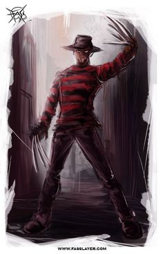 You need more Exposure, Watchers and Views? Join us : getwatchers.com/new.php?refby=… add my facebook page --> www.facebook.com/pages/FASSLAY… Freddy krueger, digital pianting