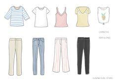 Cómo crear un armario cápsula con solo 33 prendas Projects To Try, Polyvore, Fashion Tips, Outfits, Jeans, Google, Style, Travel, Women's