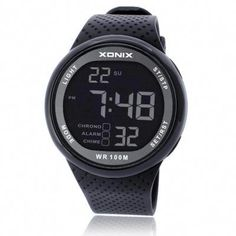 Men's Watches Energetic Outdoor Sports Watches Men Skmei Brand Countdown Led Mens Digital Watch Altimeter Pressure Compass Thermometer Reloj Hombre Bright In Colour
