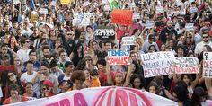 Miles de brasileños protestan contra el gobierno de Temer   Mundo   LA TERCERA