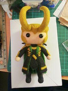 Loki plush. Isn't this adorable?