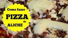 Pizza de Aliche com catupiry - Pizza Aliche avec du fromage à la crème
