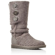 Cute Gray boots.  Love!   These are my next UGG purchase.  :)
