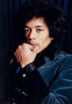 Jimi Hendrix photographed by Linda McCartney, 1967.