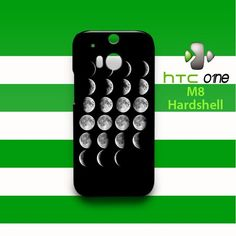Moon HTC One M8 Case Cover Hardshell
