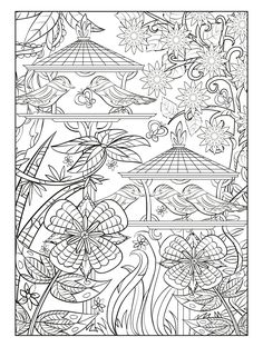Choose from a variety of free coloring pages from our coloring book, Magical Gardens! Fairy Coloring Pages, Animal Coloring Pages, Coloring Pages For Kids, Coloring Sheets, Coloring Books, Free Coloring, Free Photography, Animal Photography, Tangle Patterns