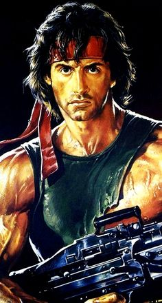 Tattoo Ideas – About 80s Movie Posters, 80s Movies, Action Movies, Film Movie, Movie Character Costumes, Movie Characters, Sylvester Stallone Rambo, Watercolor Portrait Tutorial, Metallica Concert