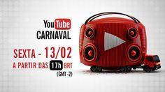 Ao Vivo YouTube Carnaval 2015 - Salvador - 13 de Fevereiro