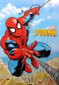 Spider-Man poster by Stan Lee-Marvel. Original