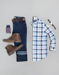Mens Casual Dress Outfits, Stylish Mens Outfits, Cool Outfits, Simple Outfits, Business Casual Attire For Men, Men Casual, Chinos Men Outfit, Outfit Grid, Mens Outfitters