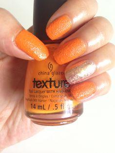 China Glaze Texture nail polish