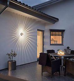 String Lights Outdoor Porch - New ideas Home Lighting, Outdoor Lighting, Lighting Design, Lighting Ideas, Garden Lighting Guide, Modern House Design, Modern Interior Design, Deco Luminaire, String Lights Outdoor