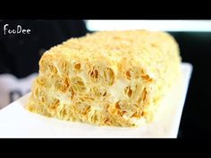 A cake with 3 ingredients is better than Napoleon / cake recipe in 30 minutes, a simple, quick and tasty cake recipe main photo Delicious Cake Recipes, Sweets Recipes, Napoleons Recipe, Napoleon Cake, Russian Cakes, Baking Buns, Quick Easy Desserts, Flaky Pastry, Russian Recipes