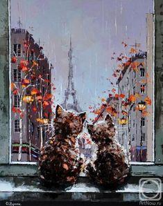 Гунин Александр. Дождь за окном