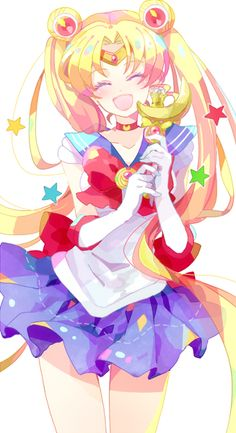 Would love the new Sailor Moon anime to look like this!