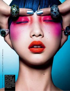Yue Ning by Shao Jia for Numero China January 2013