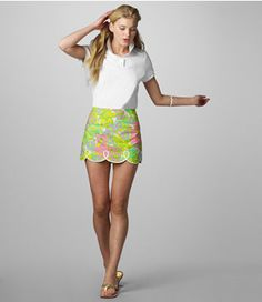 lilly pulitzer tate skirt and I'll take her legs, too.  THX!