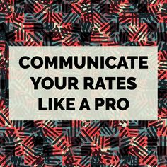 As a freelance textile designer it often makes sense to charge by the project or pattern. But   there are other times when it makes sense to charge by the hour. In this post Michelle shares  tips to setting your hourly rates and how to communicate your rates with ease.