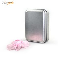 This small silver plain rectangular soap tin case can be printed your desired design and embossed your own logo to upscale your image of products and enhance your brand