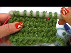 ▶ Knook Knooking: Combining Knit and Purl Techniques to Achieve Crossed or Uncrossed Stitches - YouTube