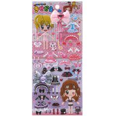 Q-lia Dressup Stickers: Sweet Princess