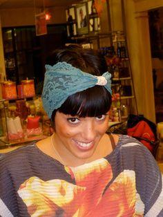 Turban Headband  Lace