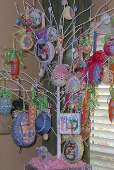 Easter Tree Detail I
