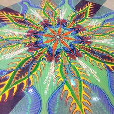 ~A amazing sand painting by Joe Mangrum