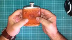 Штампование кожи с утюгом