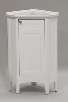 vanity bathroom sinks on 15 single sink corner bathroom vanity w white ceramic sink this 15