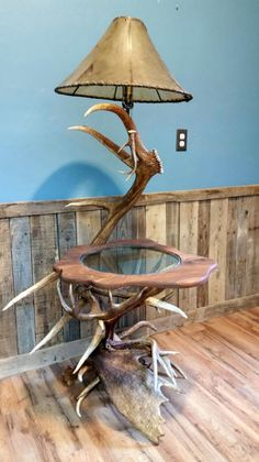 Handcrafted antler furniture and tables made from primarily moose antler, but also elk, deer, and caribou antler.