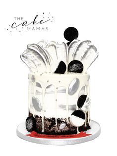 Cookies n' cream drip cake! call or email to order your birthday drip cake today! Birthday Drip Cake, It's Your Birthday, Cake Cookies, Cupcakes, Cakes Today, Cupcake Wars, Drip Cakes, Oreos, Custom Cakes