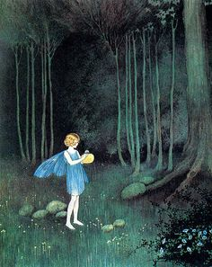 Ida Rentoul Outhwaite - one of my favourite illustrators as a child.