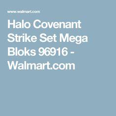 Halo Covenant Strike Set Mega Bloks 96916 - Walmart.com