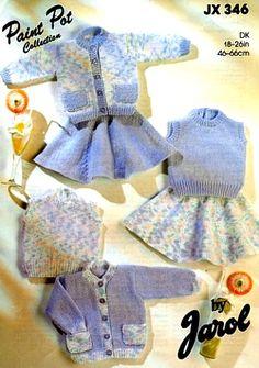 Jarol Baby Knitting Patterns