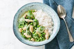 30 mei - Toverrijst + groene curry + kipdijfiletreepjes in de bonus bij Albert Heijn = lekker groen op je bord - Recept - Allerhande