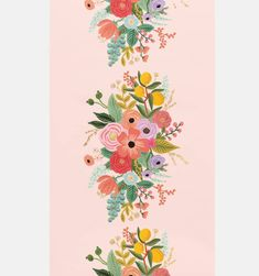 Our Garden Party Table Runner ties the whole look together with bright florals and foil details on a light pink background. Paper Table, Greeting Card Shops, Garden Table, Party Garden, Rifle Paper Co, Foil Stamping, Party Items, Flower Shape, The Fresh