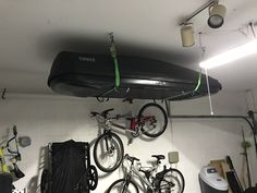 How To Store Thule Cargo Box Organization Garage
