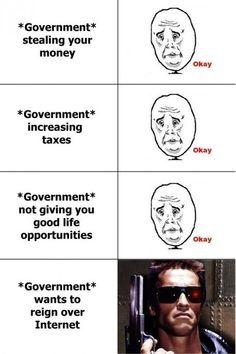 Government & internet = a big no no.