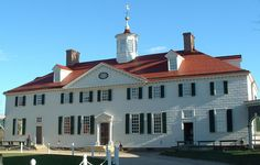 We loved visiting Mount Vernon, the estate of George Washington. I would live there!