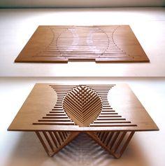 robert van embricqs - rising table