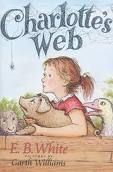 Charlotte's Web Ok...I actually need to read this one, Amelia and I will start  it soon I think!