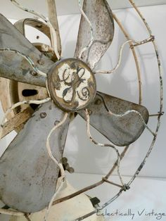 ...that old blow fan as her Great Aunt Sally called it, was a life saver to lull the baby to sleep....