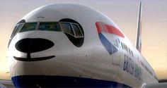 British Airways Panda
