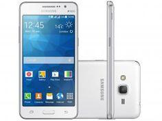 "Smartphone Samsung Galaxy Gran Prime Duos TV 8GB - Dual Chip 3G Câm. 8MP + Selfie 5MP Tela 5"""