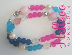 Gorgeous Set Bracelets de StilowsAccesories en Etsy