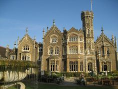 Oakley Court, a Victorian Gothic country house in Berkshire, England (by seweccentric).