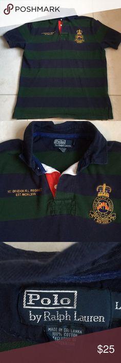 5493709d Ralph Lauren polo shirt Men Ralph Lauren polo shirt. 29 inch length. 21.5  inch