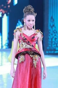 Miss Martinique 37 Over-The-Top Evening Gowns From The 2013 Miss World Fashion Show
